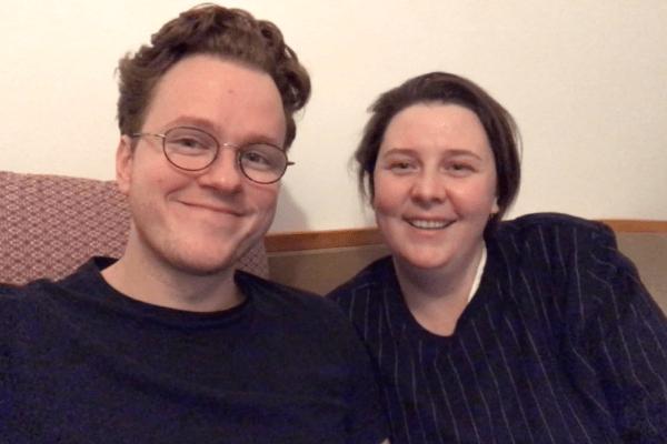 Karoline-Anni Reingraber und Peter Christoph Grünberg